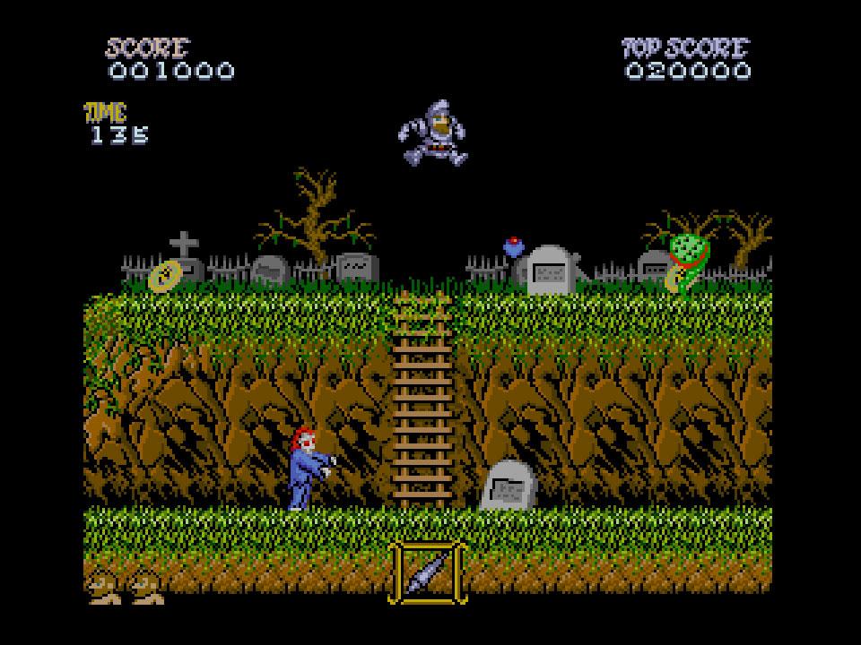 Ghost'n Goblins é eleito jogo MSX do ano de 2020 | Revista Clube MSX