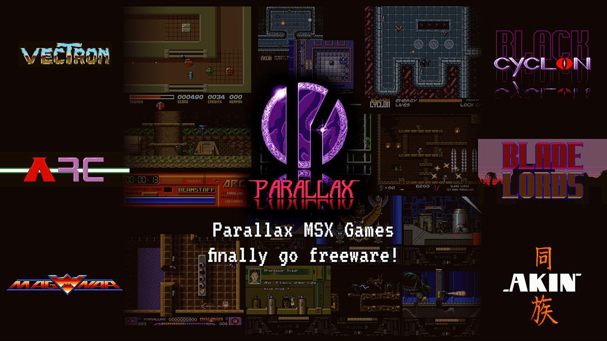 Parallax: jogos da clássica produtora agora são freeware | Revista Clube MSX