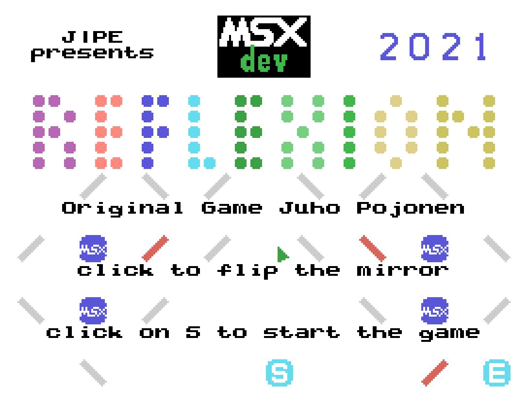 Terceiro jogo inscrito na MSXdev'21 | Revista Clube MSX