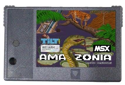 Amazônia: iniciada pré-venda da versão em cartucho para o MSX | Revista Clube MSX