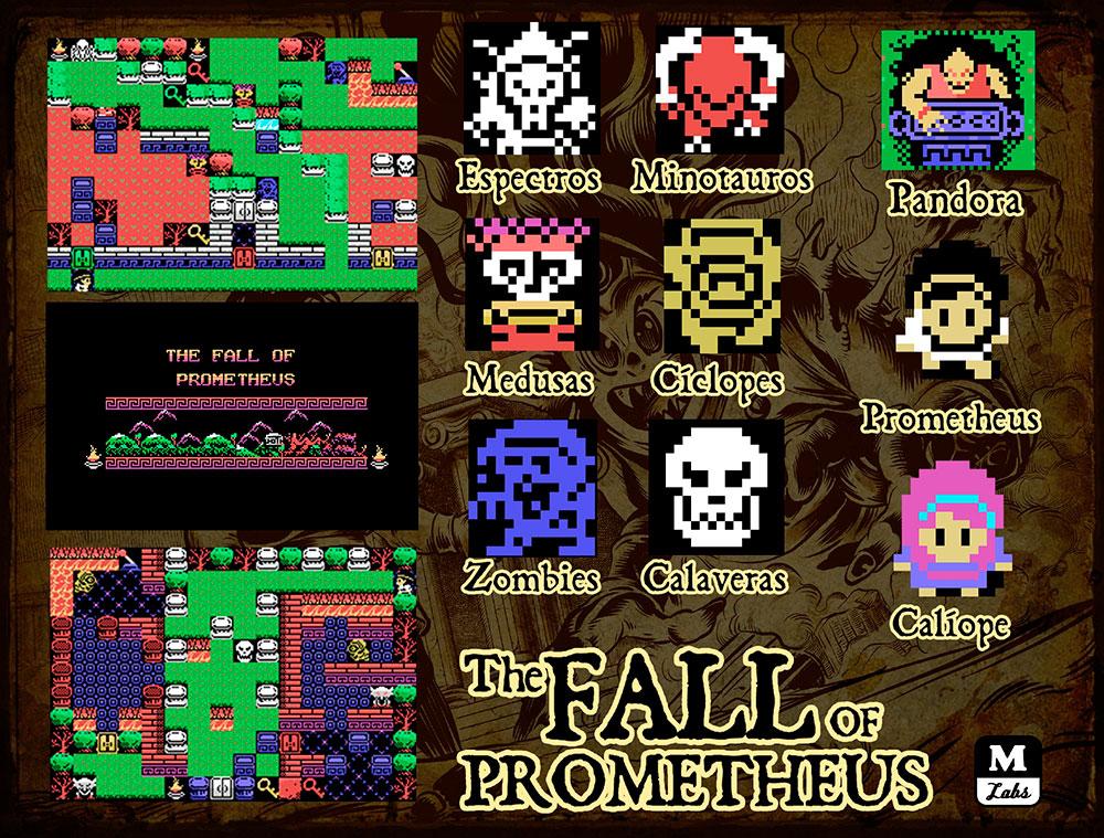 The Fall of Prometheus: título da Mistery Labs disponível em versão digital | Revista Clube MSX