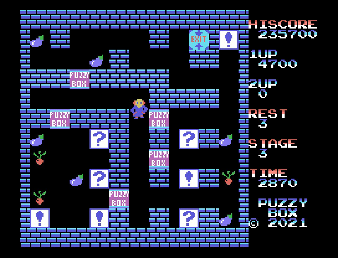 Puzzybox: sexto jogo inscrito na MSXdev'21 | Revista Clube MSX