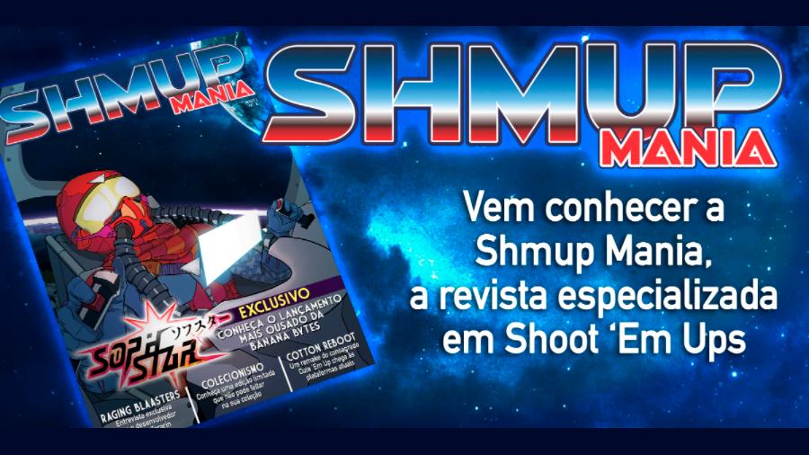 Shmup Mania: nova revista impressa será dedicada aos jogos de nave | Revista Clube MSX