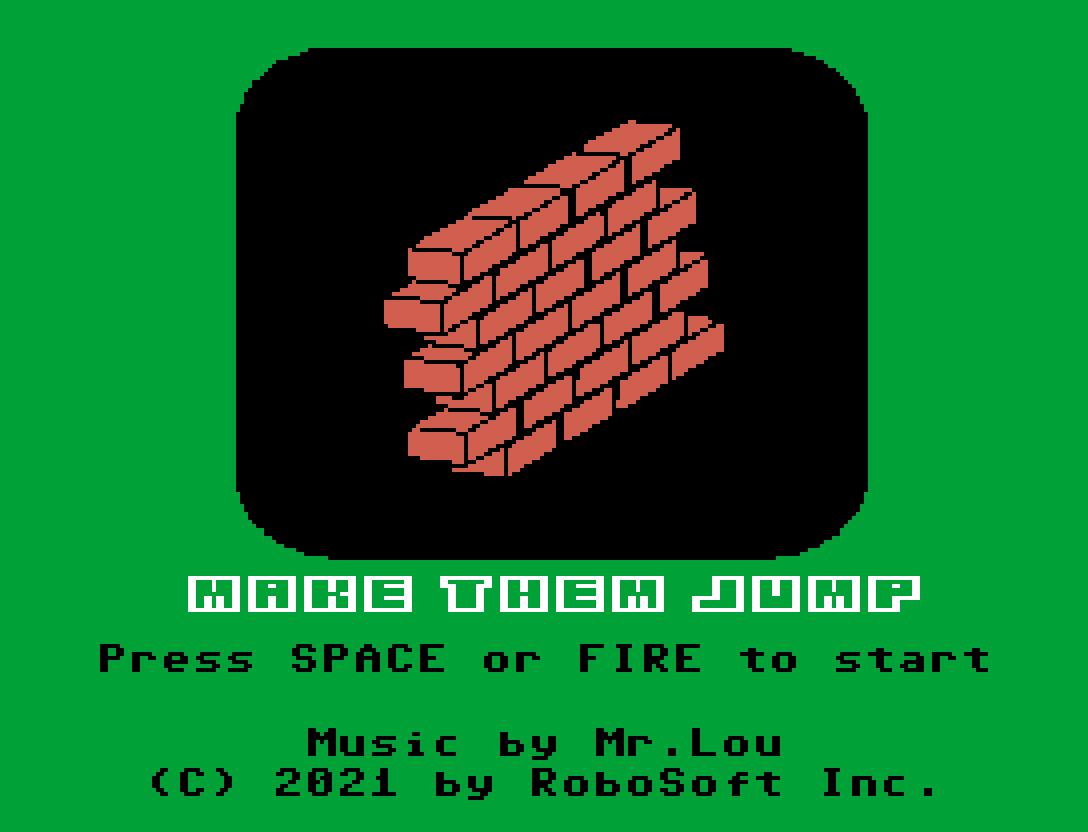 Nono jogo inscrito na MSXdev'21 | Revista Clube MSX