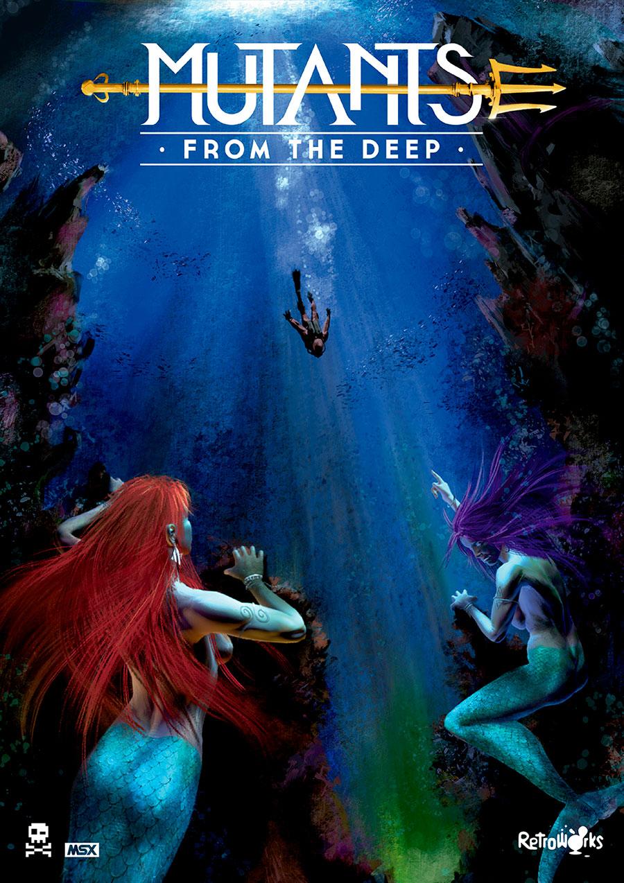 Mutants from the Deep, novo de Locomalito, já disponível para download | Revista Clube MSX