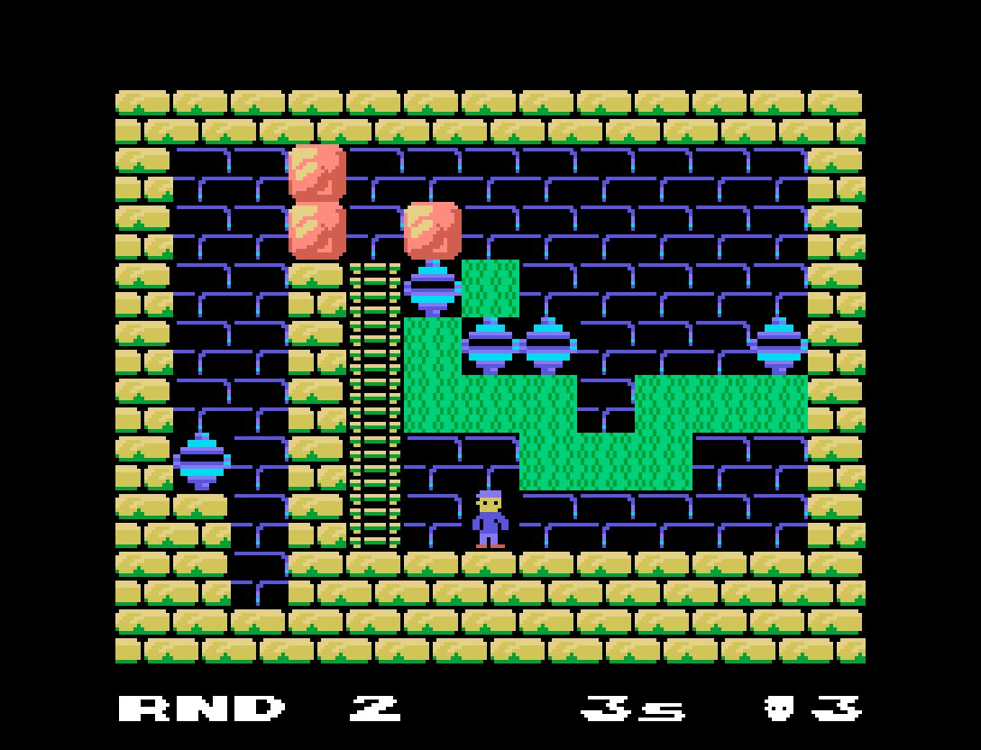 Pitman: décimo terceiro jogo inscrito da MSXdev'21 | Revista Clube MSX