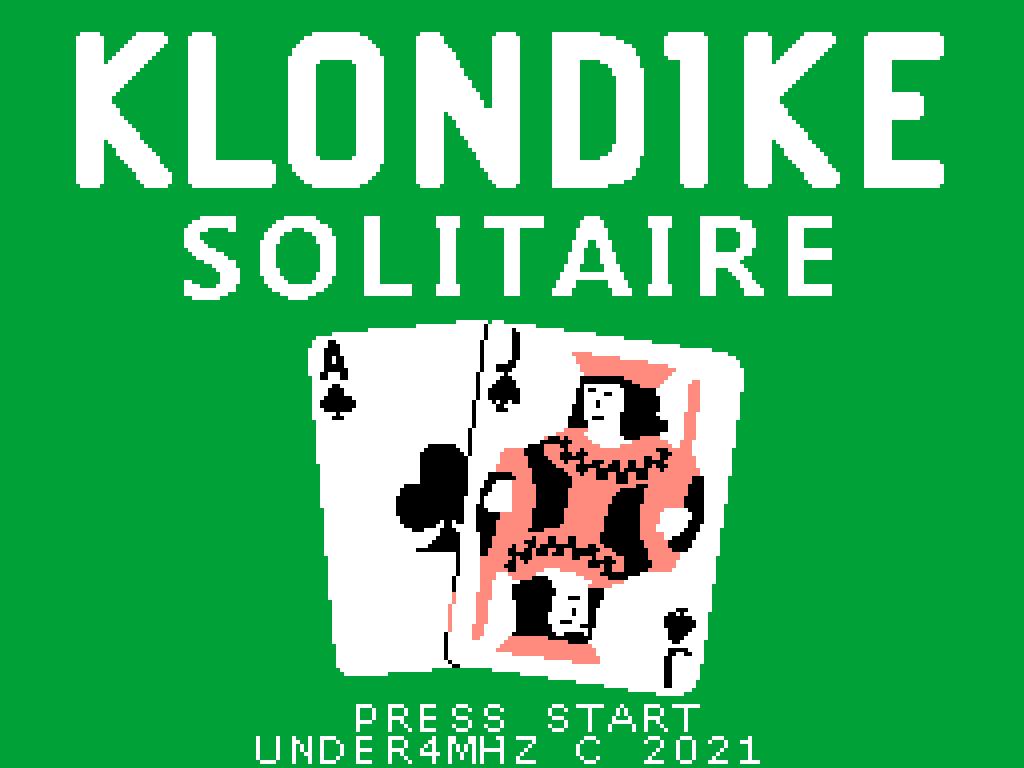 Klondike Solitaire: sétimo jogo inscrito na MSXdev'21 | Revista Clube MSX