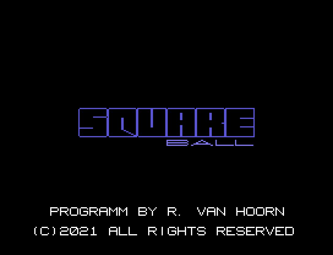 Square Ball: décimo sexto jogo inscrito na MSXdev'21 | Revista Clube MSX