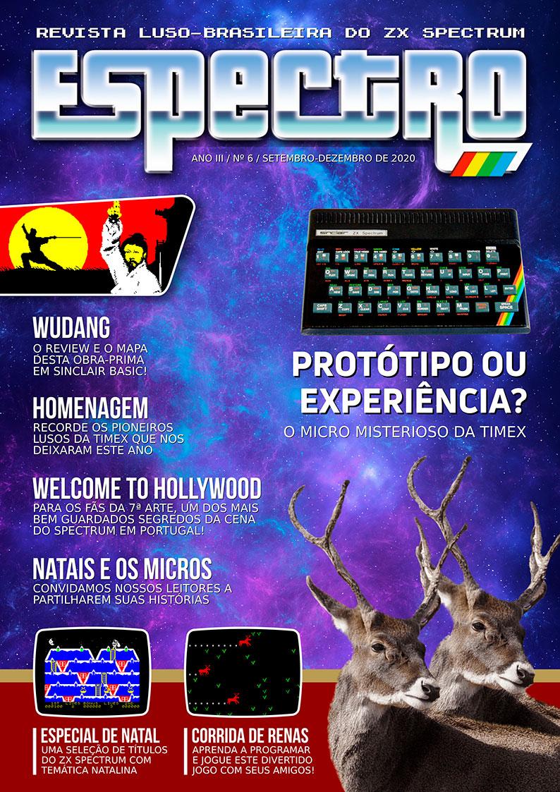 Capa da revista Espectro #6