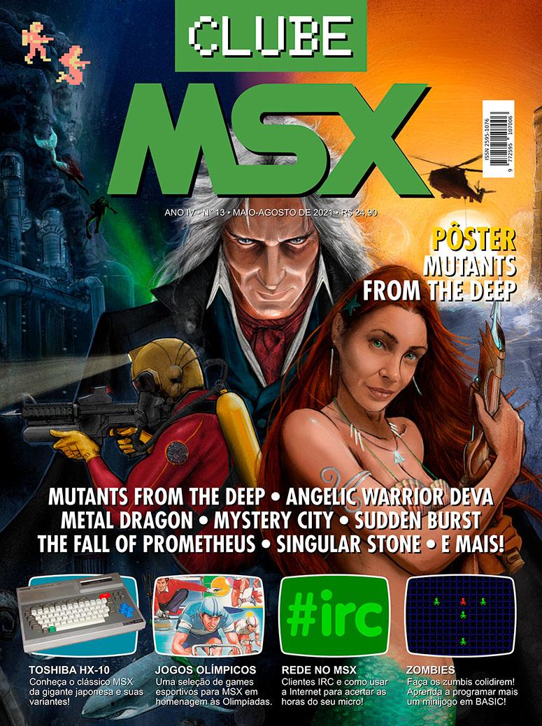 Veja como comprar a revista Clube MSX #13 | Revista Clube MSX