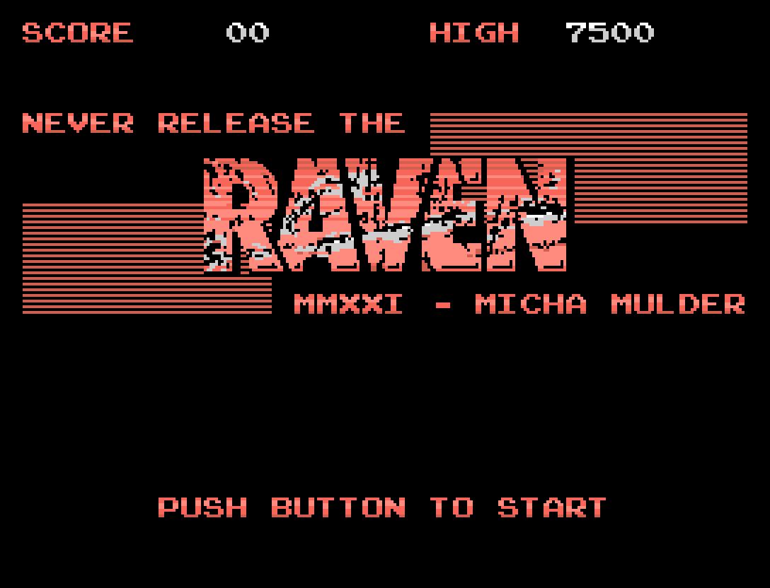 Raven: décimo oitavo jogo inscrito na MSXdev21 | Revista Clube MSX