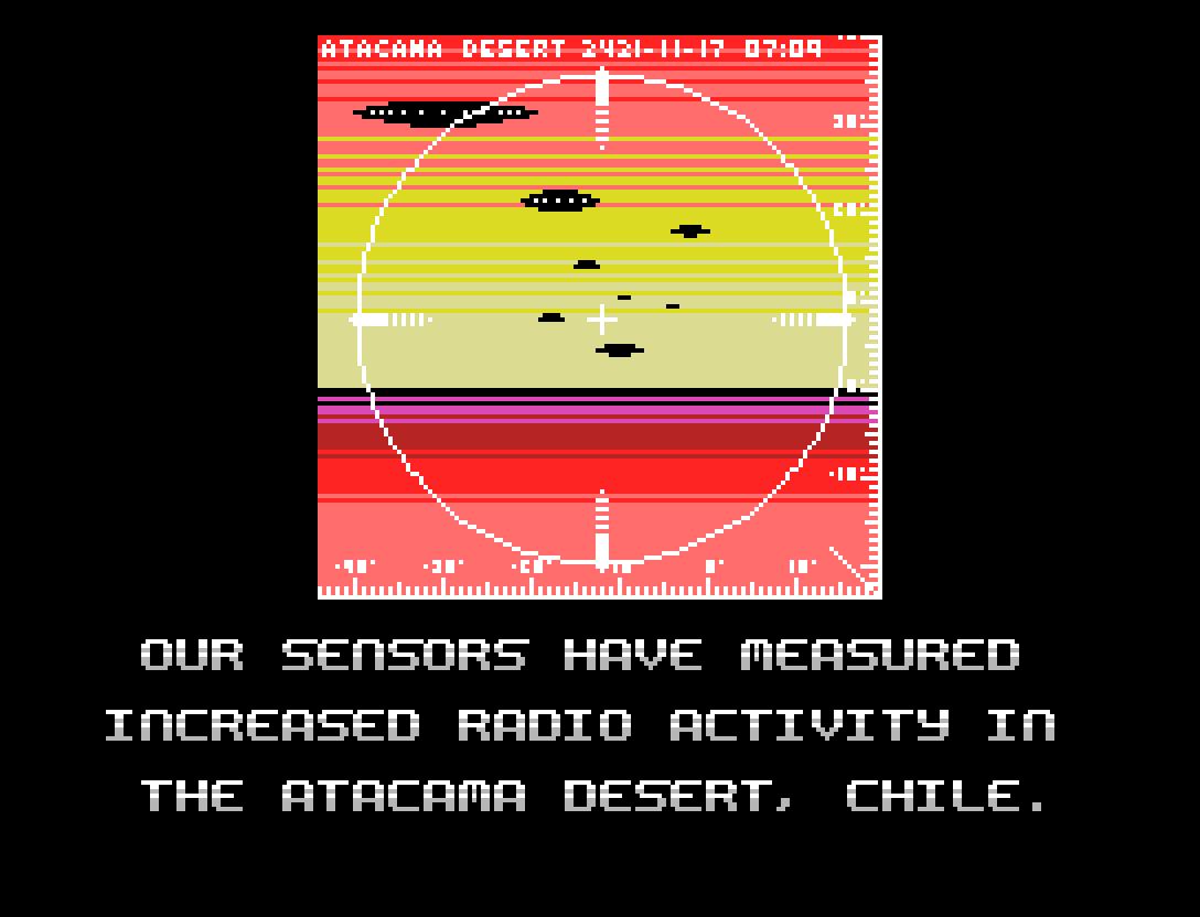 Alien Attack: vigésimo sexto inscrito na MSXdev21 | Revista Clube MSX
