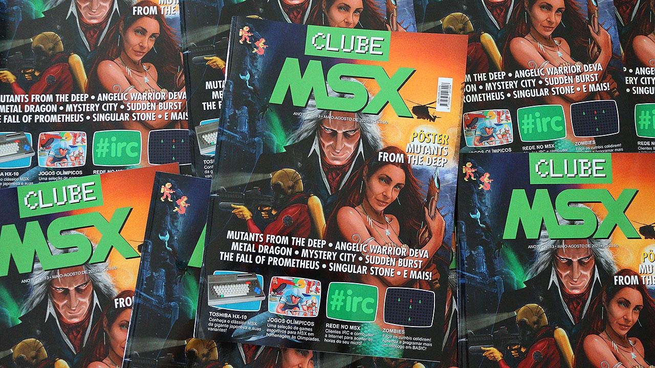 Clube MSX #13 já disponível em nossa loja virtual | Revista Clube MSX